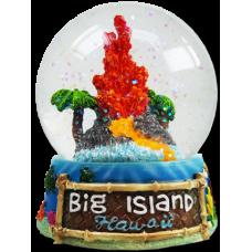 Big Island Glass Water Globe