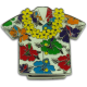 Aloha Shirt Magnet Clip