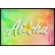 Aloha Plumeria Magnet