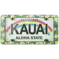 Kauai Pua License Plate Magnet