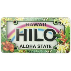 Hilo Tropical License Plate Magnet