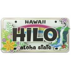 Hilo Waterfall License Plate Magnet