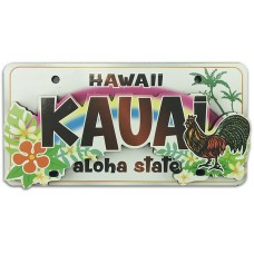 Kauai Chicken License Plate Magnet