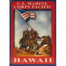 Marine Corps Hawaii 2D Magnet