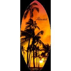Hawaii Sunset Mini Surfboard