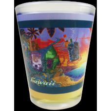 Forbidden Island Shot Glass