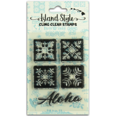 Tropical Quilt stamps
