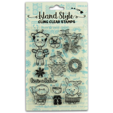 Island Characters Stamps