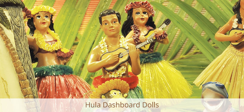 Hula Dashboard Dolls