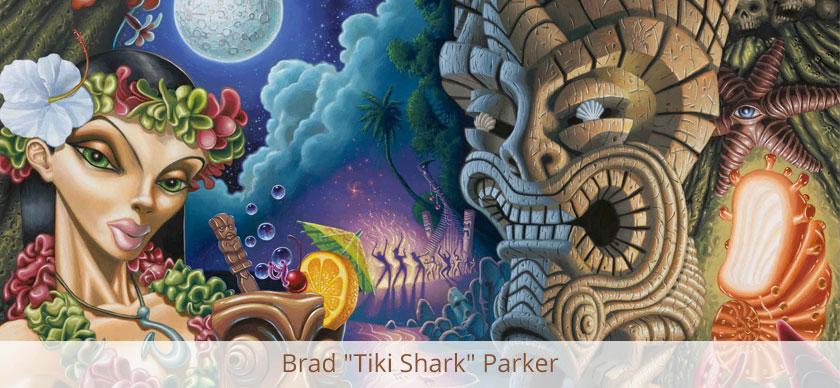 """Brad """"Tiki Shark"""" Parker"""