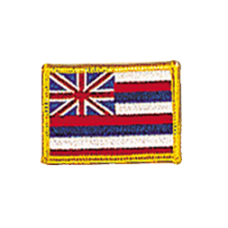 Hawaii Flag Patch