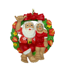 Mr. & Mrs. Claus Ornament