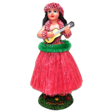 Girl w/ Ukulele Doll