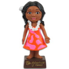 Aunty Menehune Dashboard Doll