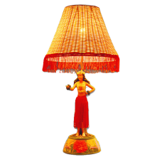 Motion Hula Girl Dancing Lamp