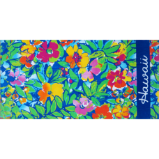 Floral Hawaii Towel