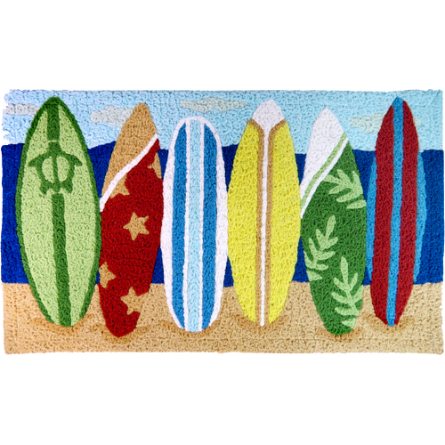 Surfboard Area Rug