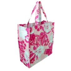Large Pink Reusable Bag