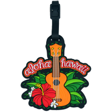 Ukulele Luggage Tag