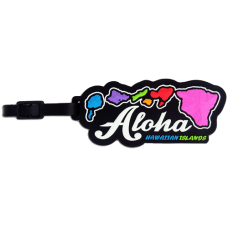 Hawaiian Islands Luggage Tag