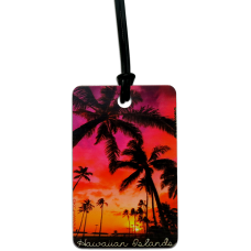Sunset Palms Luggage Tag