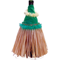 Hula Skirt Green Outfit