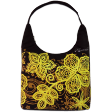 Batik Hibiscus City Bag