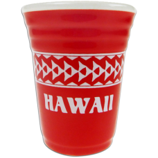 Tribal Red Shot Glass