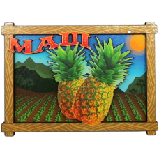 Maui Pineapple Magnet