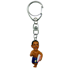 Obama Surfer Keychain