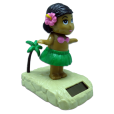Hula girl w/ Tan Solar Doll