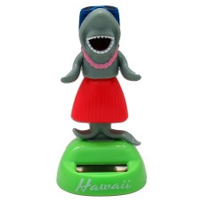 Hula Shark Solar Dashboard Doll