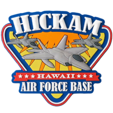 Hickam AFB PVC Magnet