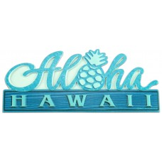 Aloha Pineapple Table Sign