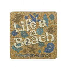Seashells Cork Coaster