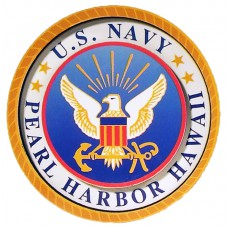 Pearl Harbor Navy Seal 2D Magnet