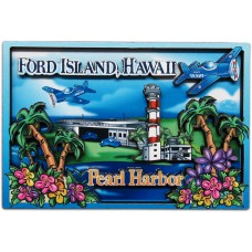 Ford Island 2D Magnet